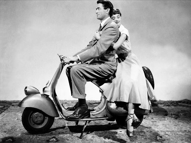 Грегори Пек и Одри Хепберн на «Веспе». «Один мотор, два колеса и два сердца» - История итальянских мотороллеров Vespa