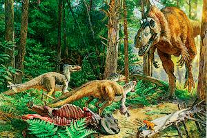 Взлет Тираннозавров