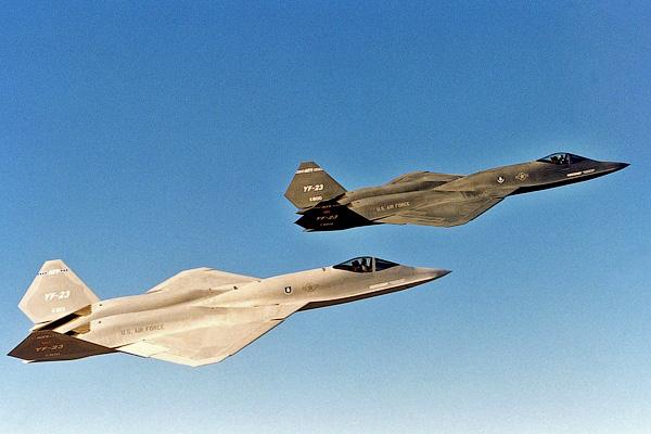 YF-23 - проигравшая «Черная вдова» - Невидимые самолеты истребители