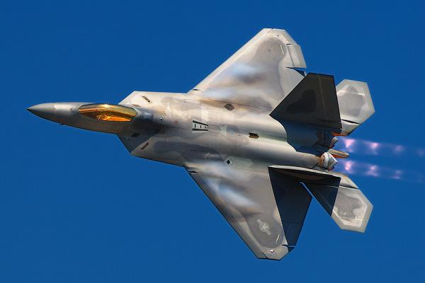 F-22 Raptor - Невидимые самолеты истребители