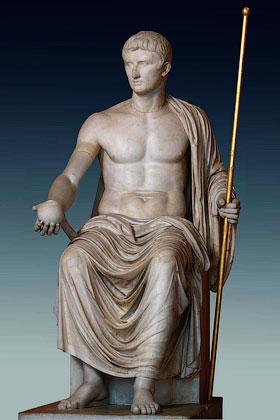 Император Октавиан Август - Культ императора