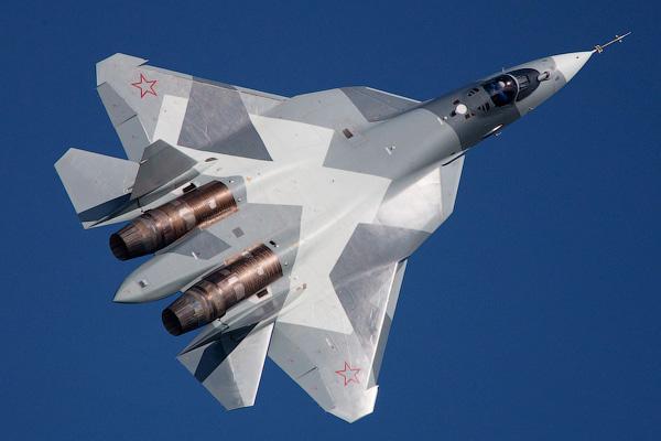 Т-50 - Российский ПАК ФА - Невидимые самолеты истребители