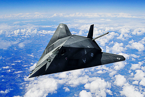 F-117 Nighthawk - Невидимые самолеты истребители