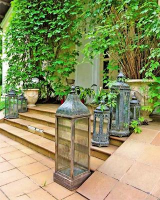 Фонари и свечи - Как соорудить террасу и обустроить внутренний дворик - Форум Сириус - Торез