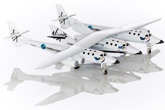 Spaceship Two - Суборбитальный туризм