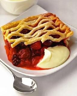 «Корзинка с ягодами»   классический пирог