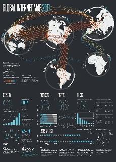 Основные телекоммуникационные кабели в мире