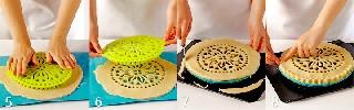 Сборка и выпекание пирога   Черничный пирог