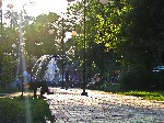 Центральный парк  Фонтан Торез