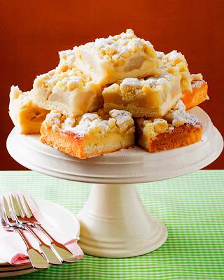 Грушевый пирог со штрейзелем