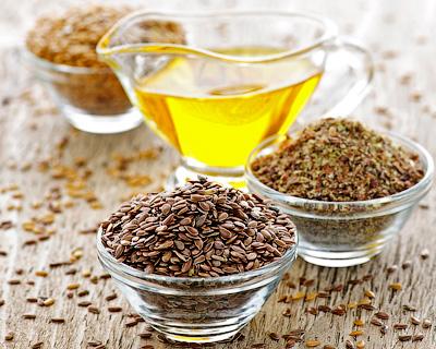 Очищение и лечение льняным маслом