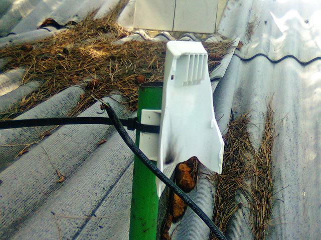 Wi-Fi Nanostation после попадания молнии - Как защитить Wi-Fi от грозы?