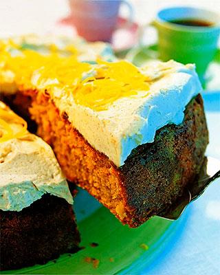 Пряный торт с пастернаком