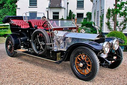 Rolls Royce Silver Ghost - Модели авто для первых персон - шишковозы