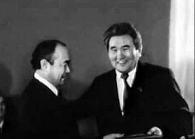 Покушение на председателя Киргизской ССР Султана Ибраимова