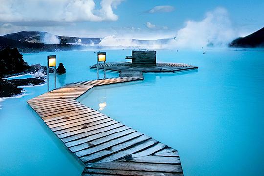 «Голубая лагуна» что находится в Исландии