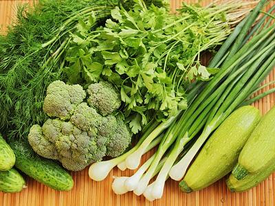 Зеленая диета - хороша для лета