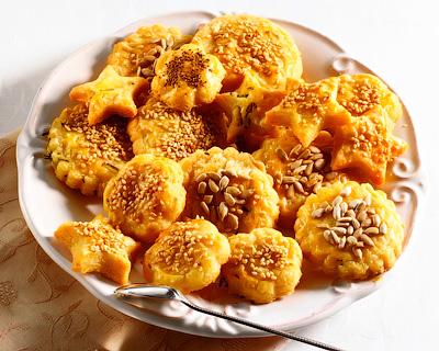Готовим соленое печенье