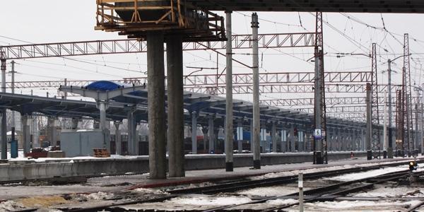 Финансирование идет исключительно за счет средств железнодорожников - В Донецке идет реконструкция ЖД вокзала - Форум Сириус - Торез