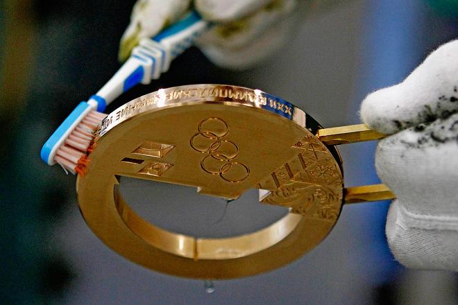 Технологии изготовления Олимпийских медалей