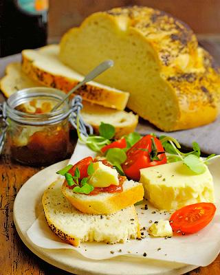 Деревенский хлеб с маком