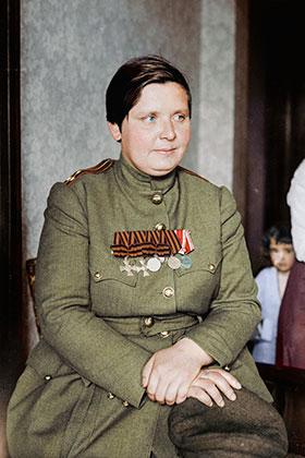 Женские воинские «Батальоны смерти» - Мария Леонтьевна Бочкарева