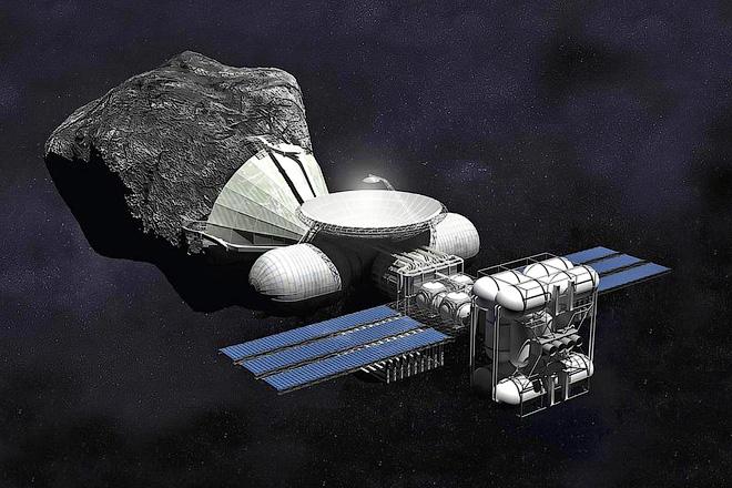 «Космическая промышленность» в концепции канадского художника Брайана Верстига (Bryan Versteeg)