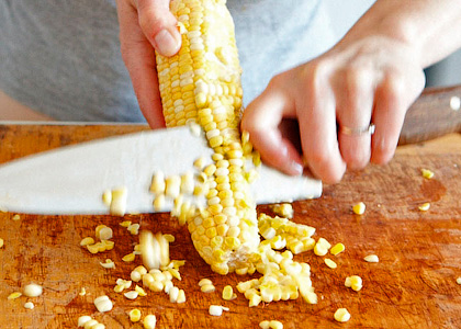 Кукуруза - использование в выпечке