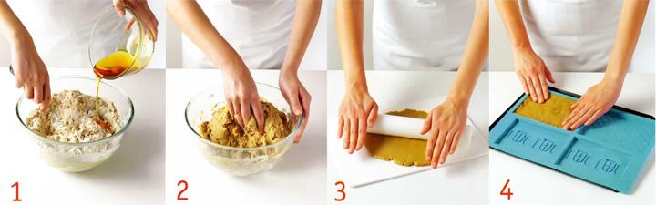 Как приготовить пряничное тесто - Пряничный домик
