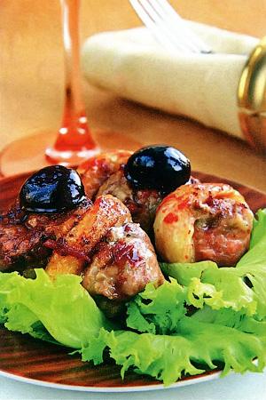 Курица со сливами - Правильное летнее меню