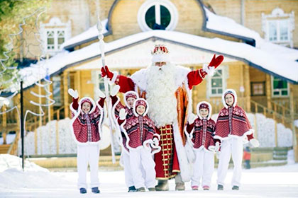 Как поздравить Деда Мороза?
