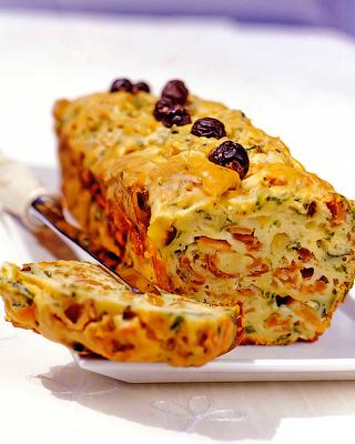 Закусочный пирог с сыром грюйер