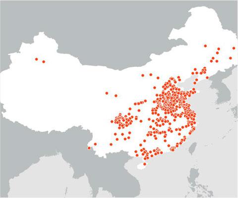 368 целей для ядерных зарядов, чтобы убить четверть населения Китая