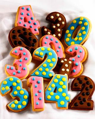 Глазированное печенье «Цифры» для детского дня рождения