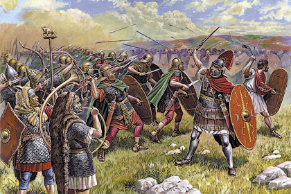 Варвары-германцы против империи