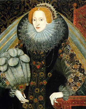 Королева ввела моду на пышные воротники, чтобы скрыть кадык - Елизавета I была... мужчиной?