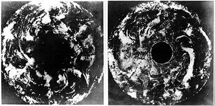 Снимки со спутника ESSA-7 - Земля внутри полая