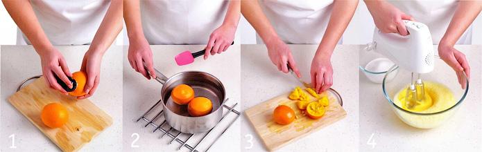 Как подготовить апельсины - Апельсиновый пирог с миндалем