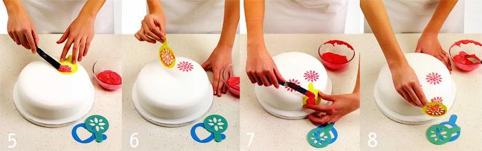Украшение торта - Ореховый глазированный торт