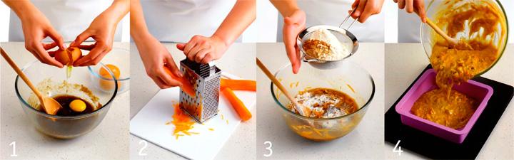 Как подготовить и испечь пирог - Морковный пирог