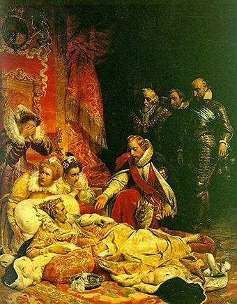 Поль Деларош. «Кончина английской королевы Елизаветы» - Елизавета I была... мужчиной?
