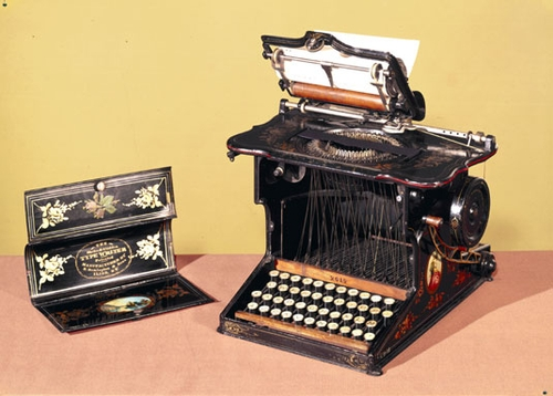 Первая печатная машинка - История появления мышек и клавиатур - Форум Сириус - Торез