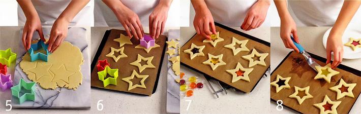 Вырезка и выпекание печенья - Печенье «Битое стекло»