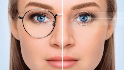 Лазерная коррекция зрения при близорукости и дальнозоркости
