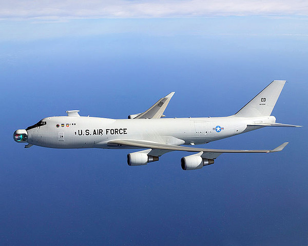 Boeing YAL-1 - Боевые лазеры уже не фантастика