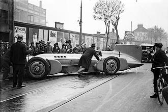 Bluebird - Автомобильные рекорды скорости