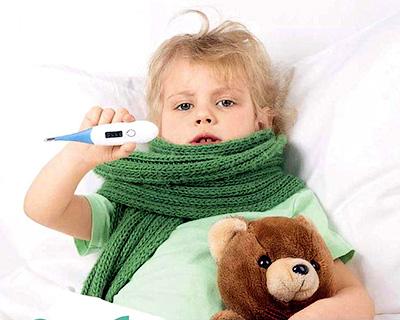 Летнее заболевание ангиной у детей