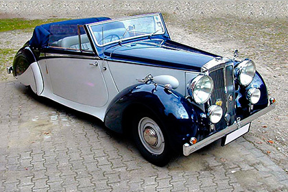 Daimler DB18 Drophead Coupe - Модели авто для первых персон - шишковозы