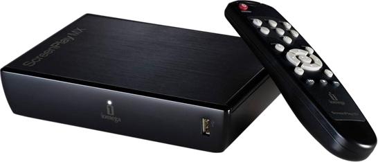 Iomega ScreenPlay MX HD Media Player - Несколько современных моделей внешних накопителей (2,5 и 3,5 дюймовых жёстких дисков)