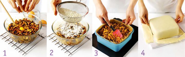 Как подготовить форму - Розовый торт «Завиток»